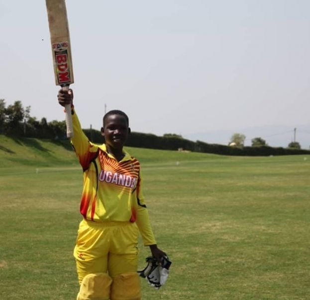 Record Breakers: Alako (above) became the first Ugandan woman to score a Twenty20 International century whereas Musamali (below right) etched into history books with her own ton and also featured in a record partnership of 227. PHOTO BY Felix Niyonsenga/Rwanda Cricket