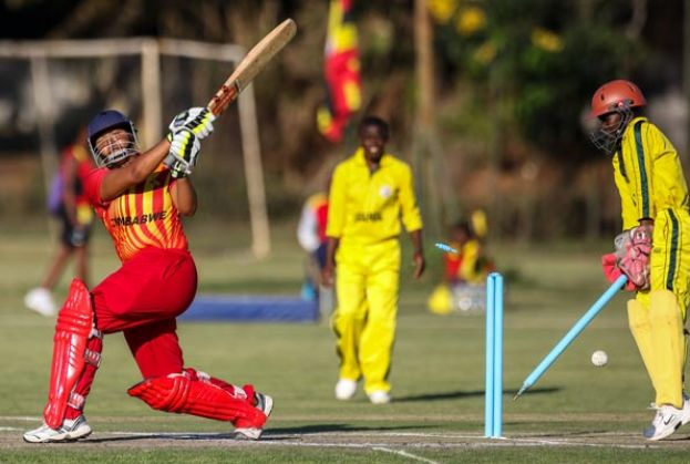 Uganda were bettered by hosts Zimbabwe but recovered to beat Kenya in Harare on Sunday. PHOTO BY AFP