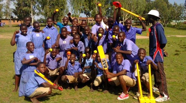 Cricket for Peace reaches new boundaries in Uganda