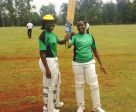 Kayondo Naome Top Scores with 119 runs in the UCA Women's National 40 Over League