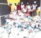 Kololo SSS, during the equipment distribution press conference