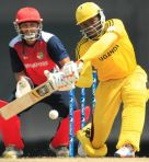 Roger Mukasa is a top order batsman for the Cricket Cranes.